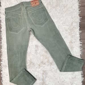 True Religion Geno Slim Straight Leg Jeans 33